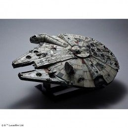 BANDAI STAR WARS MILLENNIUM FALCON PERFECT GRADE 1/72 MODEL KIT 47CM FIGURE