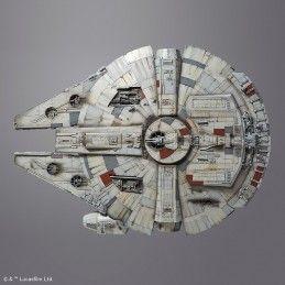 STAR WARS MILLENNIUM FALCON PERFECT GRADE 1/72 MODEL KIT 47CM FIGURE BANDAI