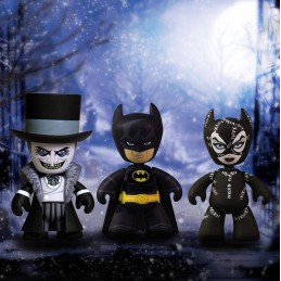 BATMAN RETURNS MEZ-ITZ ACTION FIGURE 3-PACK 5 CM MEZCO