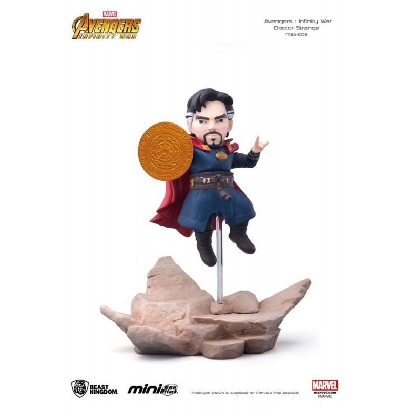 BEAST KINGDOM AVENGERS INFINITY WAR MINI EGG ATTACK FIGURE DOCTOR STRANGE 9 CM