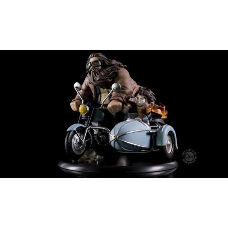 HARRY POTTER Q-FIG MAX DIORAMA HARRY POTTER AND RUBEUS HAGRID 15 CM