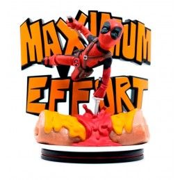 QUANTUM MECHANIX MARVEL Q-FIG MAX DIORAMA DEADPOOL MAXIMUM EFFORT 14 CM