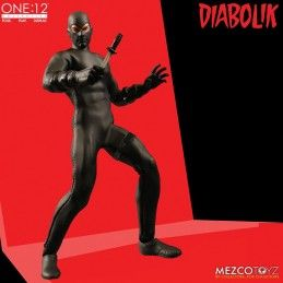 DIABOLIK CLOTH ONE:12 COLLECTIVE ACTION FIGURE MEZCO TOYS