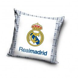 CUSCINO PILLOW REAL MADRID UFFICIALE BIANCO
