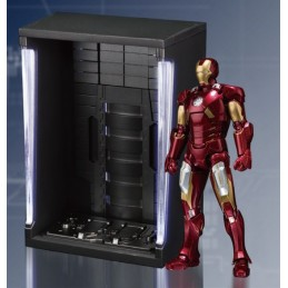 IRON MAN MARK 7 VII + HALL OF ARMOR SET FIGUARTS ACTION FIGURE