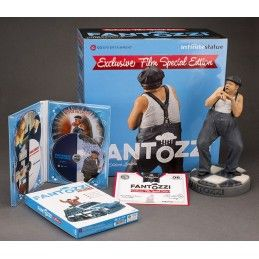 UGO FANTOZZI OLD AND RARE EXCLUSIVE FILM STATUE FIGURE PAOLO VILLAGGIO 25 CM INFINITE STATUE