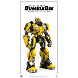 THREE A TOYS TRANSFORMERS BUMBLEBEE DLX SCALE COLLECTIBLE ACTION FIGURE 20CM
