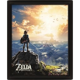 THE LEGEND OF ZELDA SUNSET LENTICULAR 3D POSTER 25X20CM