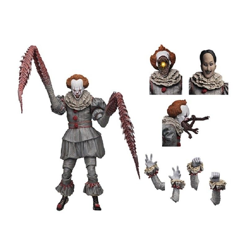 IT - ULTIMATE DANCING CLOWN PENNYWISE DELUXE ACTION FIGURE