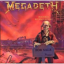 MEGADETH PEACE SELLS...BUT WHO'S BUYING? CLOTH VIC ACTION FIGURE