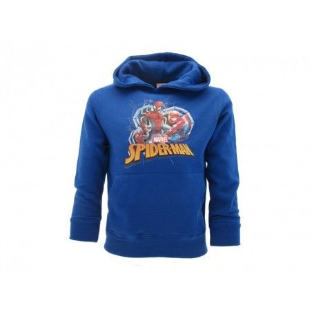 FELPA HOODIE MARVEL SPIDER-MAN BLU ROYAL