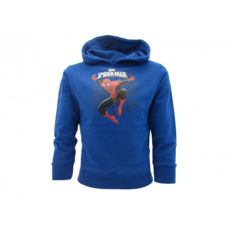 FELPA HOODIE MARVEL SPIDER-MAN RAGNATELA BLU ROYAL