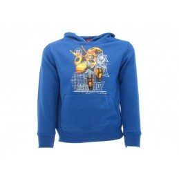 FELPA HOODIE TRANSFORMERS ROLL OUT BLU ROYAL