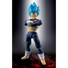 DRAGON BALL SUPER SAIYAN GOD SS VEGETA S.H. FIGUARTS ACTION FIGURE