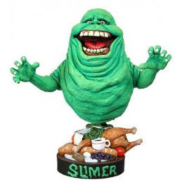 GHOSTBUSTERS - SLIMER BOBBLE HEADKNOCKER FIGURE NECA