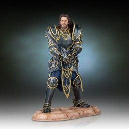 WORLD OF WARCRAFT LOTHAR STATUE