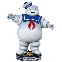 GHOSTBUSTERS - STAY PUFT MARSHMALLOW MAN BOBBLE HEADKNOCKER FIGURE NECA