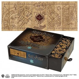NOBLE COLLECTIONS HARRY POTTER THE MARAUDER'S MAP 1000 PIECES PEZZI JIGSAW PUZZLE 85X32CM