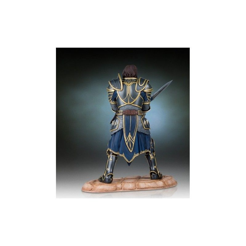 GENTLE GIANT WORLD OF WARCRAFT LOTHAR STATUE