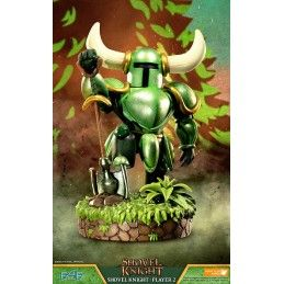 SHOVEL KNIGHT PLAYER 2 STATUE RESIN 39CM FIGURE FIRST4FIGURES