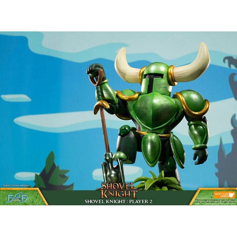 FIRST4FIGURES SHOVEL KNIGHT PLAYER 2 STATUE RESIN 39CM FIGURE