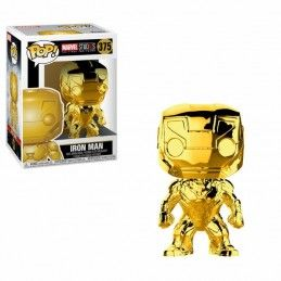 MARVEL STUDIOS 10 POP! MARVEL VINYL FIGURE IRON MAN (CHROME) 9 CM FUNKO