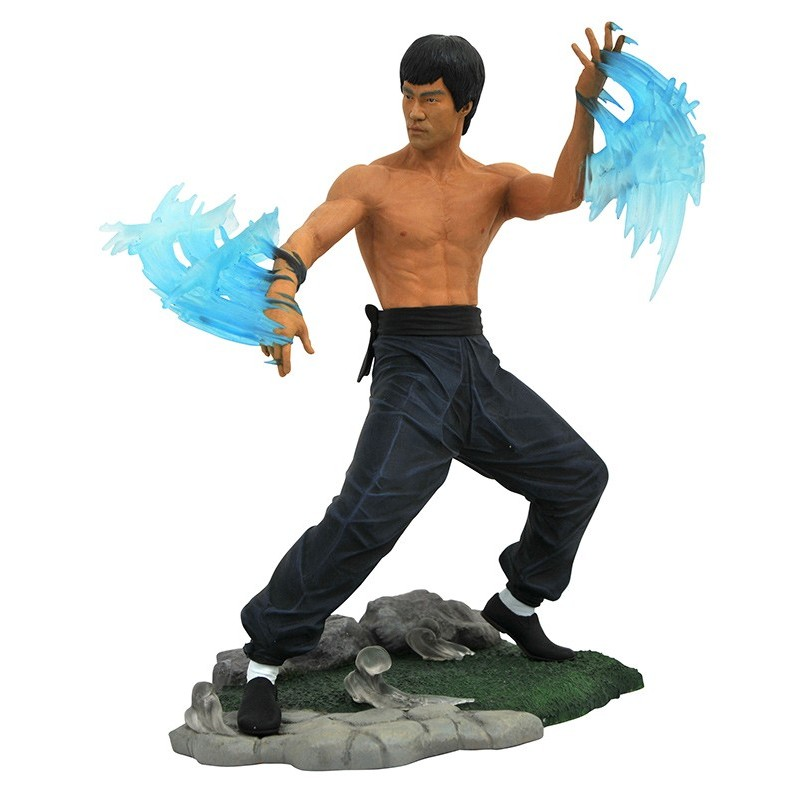 BRUCE LEE GALLERY BE LIKE WATER PVC STATUE 25CM FIGURE