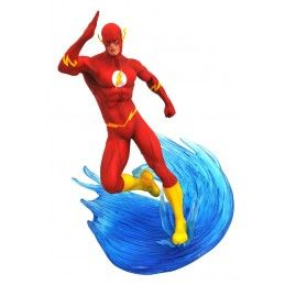DC COMICS GALLERY - FLASH COMIC 25 CM STATUE FIGURE