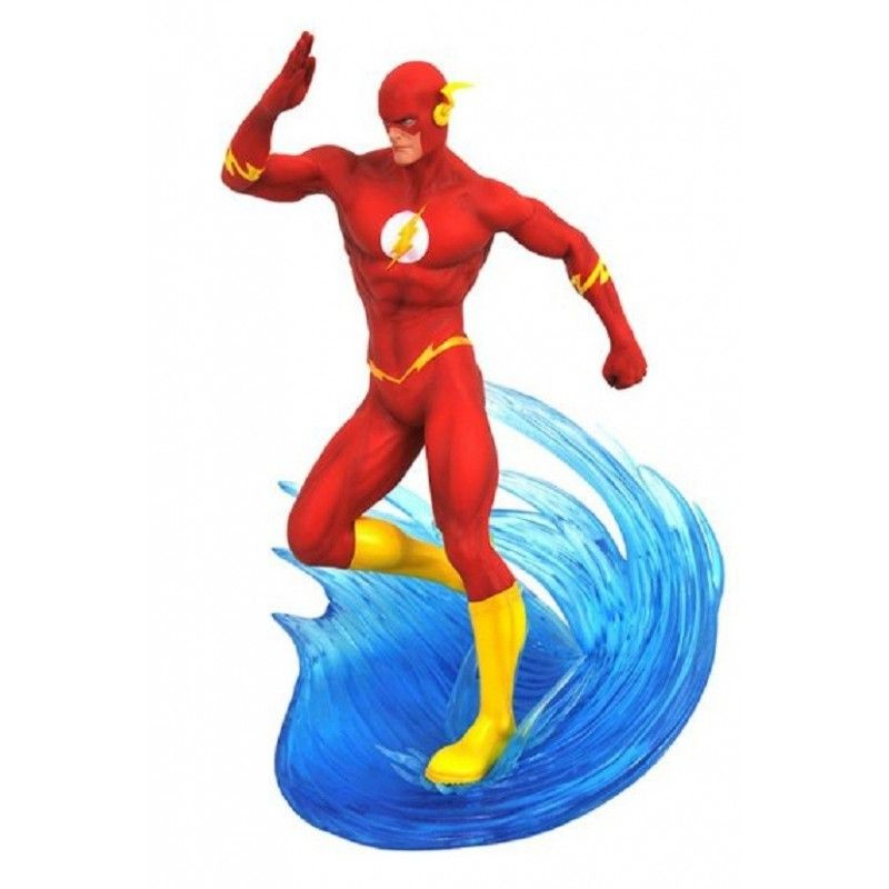 DC COMICS GALLERY - FLASH COMIC 25 CM STATUE FIGURE DIAMOND SELECT