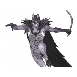 BATMAN BLACK AND WHITE BY KENNETH ROCAFORT RESIN STATUE 20CM FIGURE