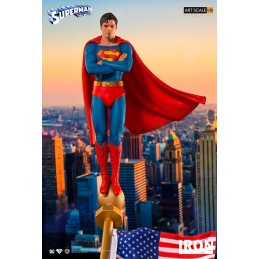 SUPERMAN THE MOVIE 1978 ART SCALE DELUXE 1/10 STATUE RESIN 34CM FIGURE