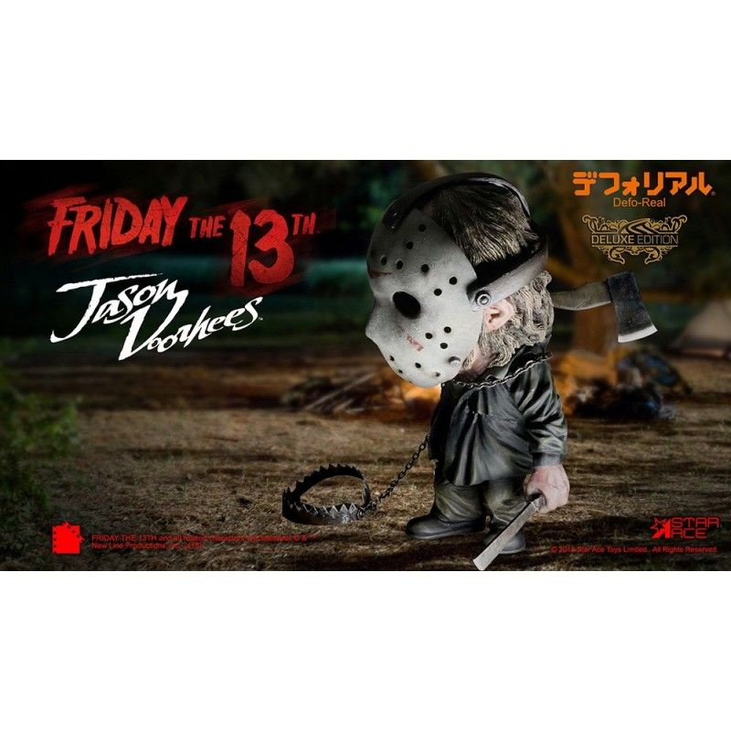 FRIDAY THE 13TH - JASON VOORHEES DEFORMED DELUXE ACTION FIGURE STAR ACE