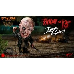 FRIDAY THE 13TH - JASON VOORHEES DEFORMED DELUXE ACTION FIGURE
