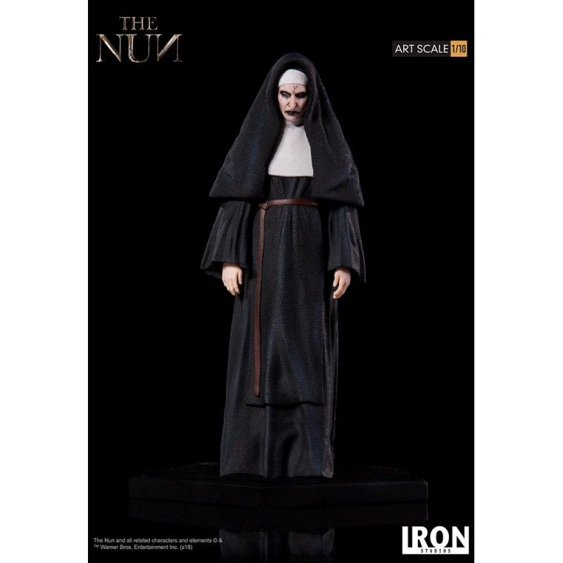 THE NUN ART SCALE 1/10 RESIN STATUE 18 CM FIGURE IRON STUDIOS
