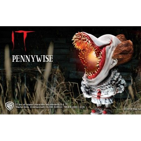 IT PENNYWISE DEFORMED SCARY LIGHTUP VERSION ACTION FIGURE