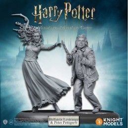 HARRY POTTER MINIATURE ADVENTURE GAME - BELLATRIX AND WORMTAIL PACK