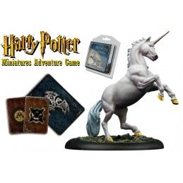 HARRY POTTER MINIATURE ADVENTURE GAME - UNICORN ADVENTURE PACK KNIGHT MODELS