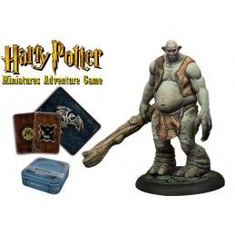HARRY POTTER MINIATURE ADVENTURE GAME - TROLL ADVENTURE PACK KNIGHT MODELS