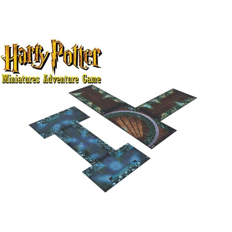 HARRY POTTER MINIATURE ADVENTURE GAME - MINISTRY OF MAGIC ADVENTURE PACK