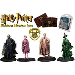 HARRY POTTER MINIATURE ADVENTURE GAME - HOGWARTS PROFESSORS PACK KNIGHT MODELS