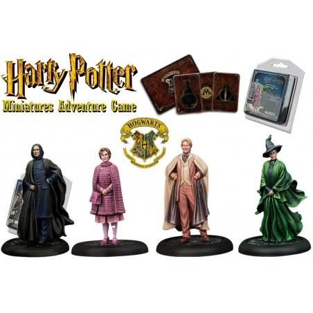 HARRY POTTER MINIATURE ADVENTURE GAME - HOGWARTS PROFESSORS PACK