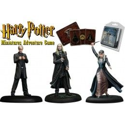 HARRY POTTER MINIATURE ADVENTURE GAME - MALFOY FAMILY PACK KNIGHT MODELS