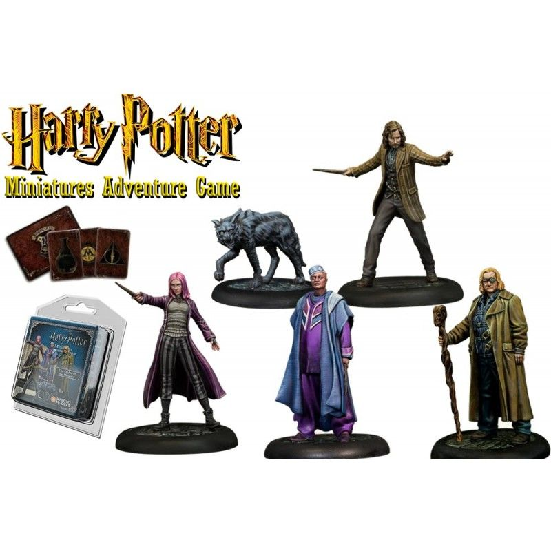 HARRY POTTER MINIATURE ADVENTURE GAME - ORDER OF THE PHOENIX PACK
