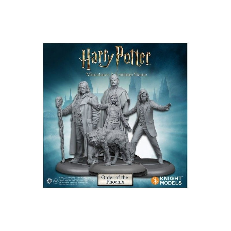 HARRY POTTER MINIATURE ADVENTURE GAME - ORDER OF THE PHOENIX PACK KNIGHT MODELS