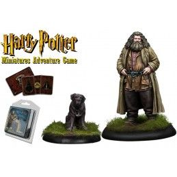 HARRY POTTER MINIATURE ADVENTURE GAME - RUBEUS HAGRID PACK KNIGHT MODELS