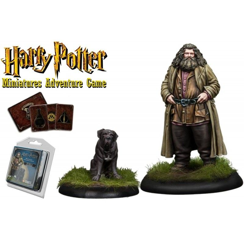 HARRY POTTER MINIATURE ADVENTURE GAME - RUBEUS HAGRID PACK