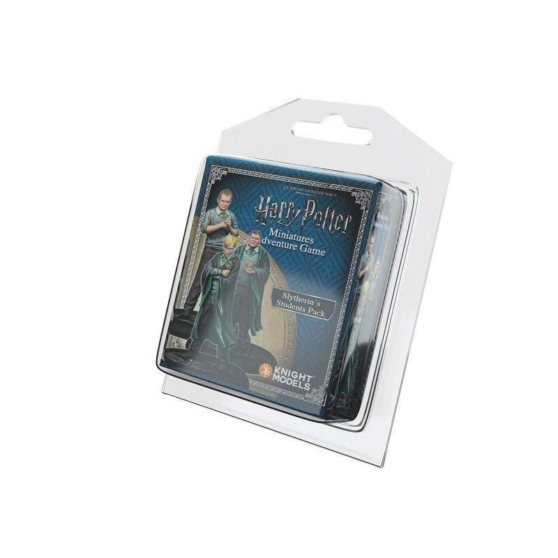 HARRY POTTER MINIATURE ADVENTURE GAME - SLYTHERIN STUDENTS PACK KNIGHT MODELS
