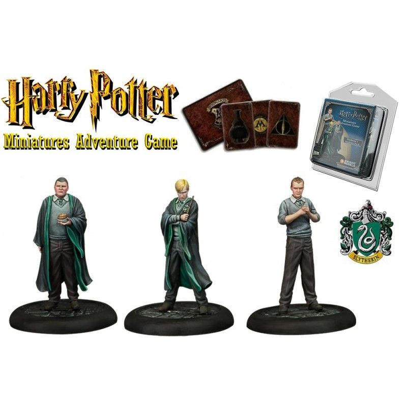 HARRY POTTER MINIATURE ADVENTURE GAME - SLYTHERIN STUDENTS PACK