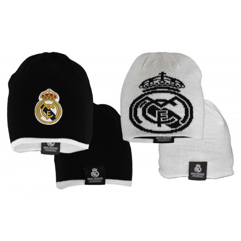 BERRETTA BEANIE UFFICIALE REAL MADRID REVERSIBLE DOUBLEFACE