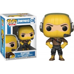 FUNKO POP! FORTNITE - RAPTOR BOBBLE HEAD KNOCKER FIGURE